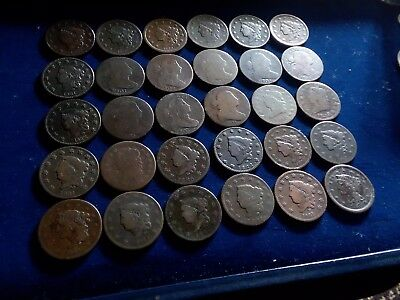 large cent lots us coins