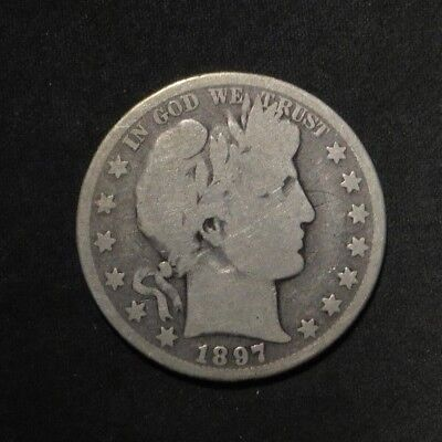 1897-O Barber Half Dollar 50¢- Good