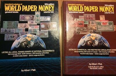 2 Kataloge World Paper Money 1+2