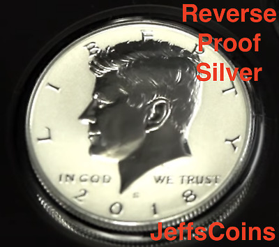 2018 S REVERSE Kennedy Half Dollar 90% Silver Proof Mint Set 50 Cent From 18XC