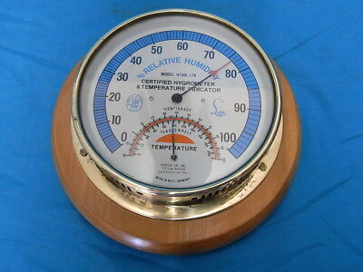 Fine Vintage Lufft Abbeon Humidity & Temperature Guage