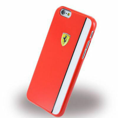 GENUINE Ferrari Red Hard Case Yellow Motif for iPhone 6 6s