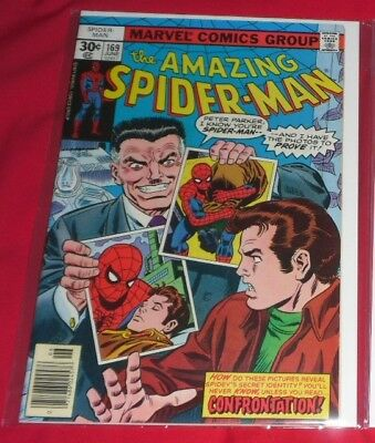 Amazing Spiderman 169# 1977 Confrontation And Only 99P Start !