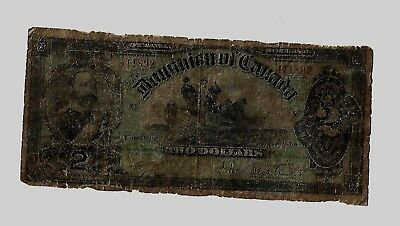 1897 Dominion of Canada $2 Fishing Dory