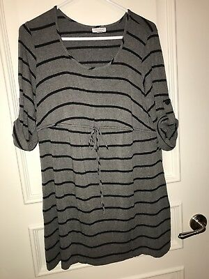 Pea In The Pod Maternity Top Size Large Pregnancy Maternity Women Mom To Be