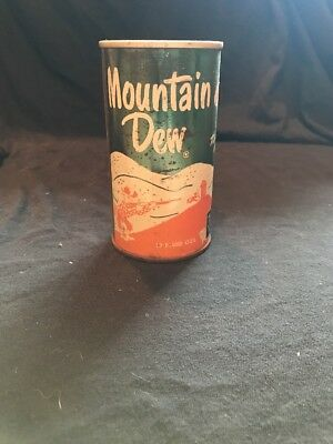 Vintage Mt Dew Can