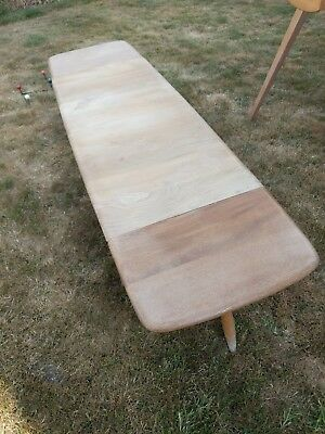 Rare Vintage Ercol Drop Leaf Coffee Table 456