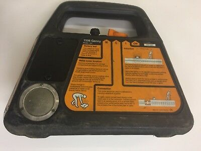 Radiodetection Genny Mk2 4 Use with Cable Avoidance Avoidance Tool Underground