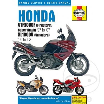 Honda XL 1000 V Varadero 2003 Haynes Service Repair Manual 3744