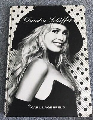 CLAUDIA SCHIFFER book by Karl Lagerfeld - 1995 - photos of Claudia Schiffer