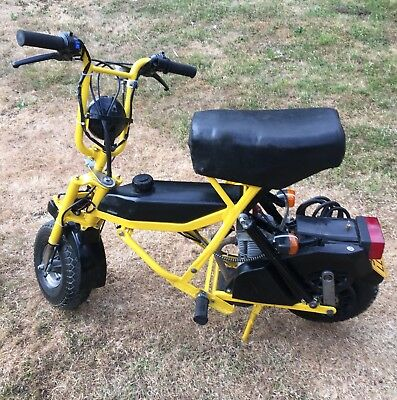 Di Blasi folding motorcycle moped scooter with V5 and bag