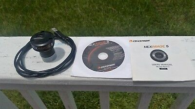 Celestron NEXIMAGE 5MP Solar System Imager Used in good condition. Free shipping