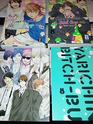 Come to where the bitch boys are 1-2 limited edition manga yaoi