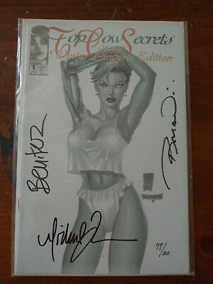 Top Cow Secrets Special Winter Lingerie Special signed Michael Turner