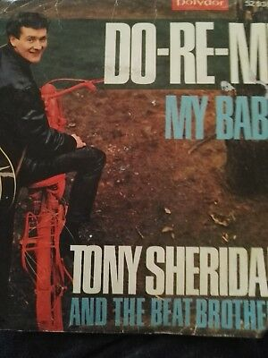 Ersterscheinung 1969 Tony  Sheridan The  Beat  Brother  DO-RE-MI / My BABE/ Rare