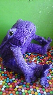 Animal Alley Plush purple violet pink Toad Frog stuffed animal Commonwealth toy