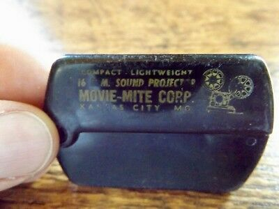 Old ADVERTISING COMB Movie-Mite16 MM PROJECTOR Dealer Giveaway Lippincott Phila.
