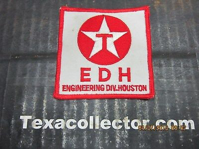 Texaco Patch # 813 Engineering Division Houston