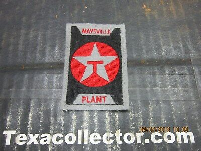 Texaco Patch # 825 Maysville Plant