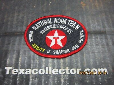 Texaco Patch # 814 Natural Work Team