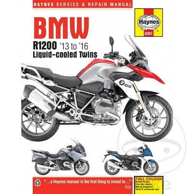 BMW R 1200 GS Adventure LC ABS 2016 Haynes Service Repair Manual 6281