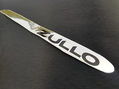 ZULLO bicycle  chainstay protector sticker decal chrome vintage style FRAME