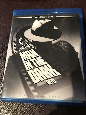 Man In The Dark 3D, Blu Ray, Twilight Time, OOP and Extremely rare