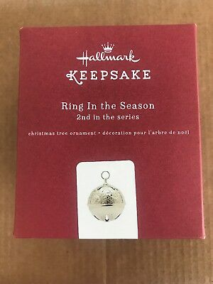Hallmark 2016 Christmas Ornaments Ring In The Season - 2nd in the Series New