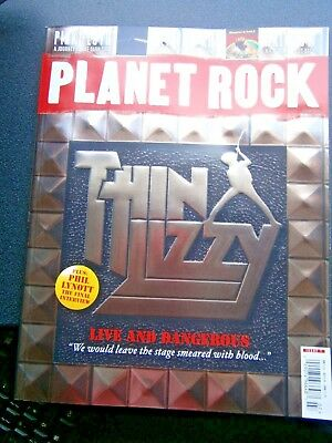 Planet Rock Magazine Issue 7 (new) Thin Lizzy  2018