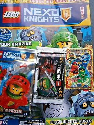 Lego Nexo Knights Comic Special No2  And Gifts