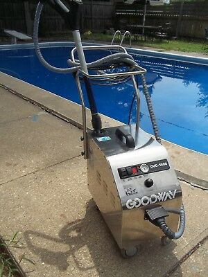 Goodway Commercial Vapor Steam Cleaner Gvc 1500