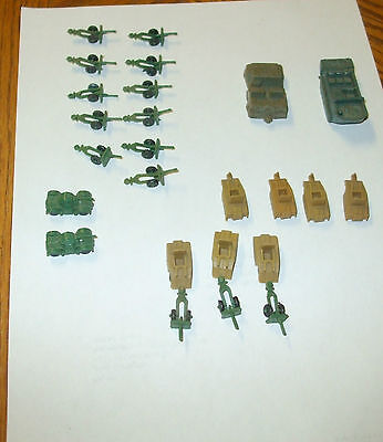 Vintage 50-60's Military Toys 25Mm-45Mm All Very Nice Some Lido Some Mpc 25 Pcs