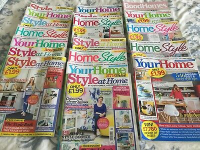 20 Home Improvement Magazines, selling all together