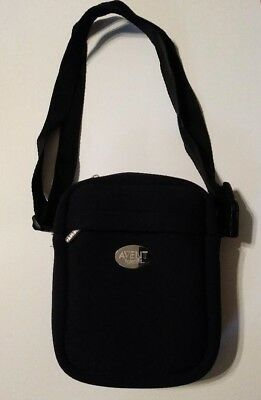 Avent Insulated Naturally Baby Travel Bag Thermabag Black Thinsulate Bottle