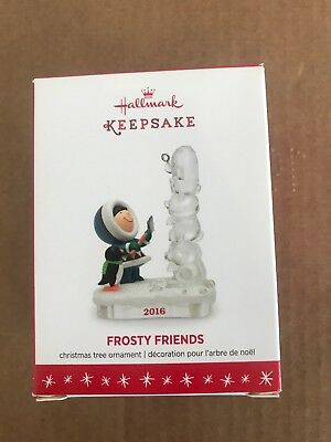 2016 Hallmark Christmas Ornaments Frosty Friends 37th in the Series