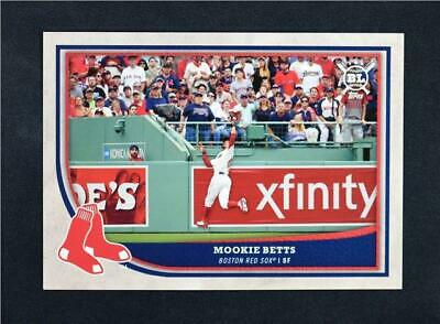 2018 Topps Big League Baseball Base #159 Mookie Betts