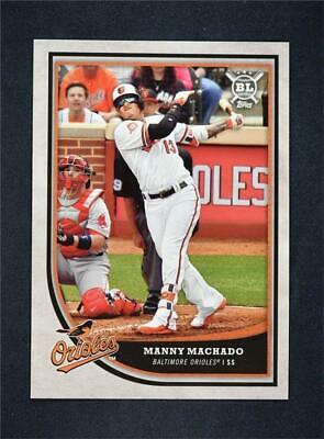 2018 Topps Big League Baseball Base #105 Manny Machado