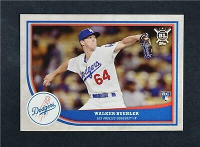2018 Topps Big League Baseball Base #116 Walker Buehler