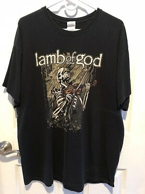 Lamb of God 2012 Concert Shirt