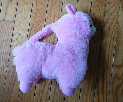 Alpaca Amuse PLUSH Purse NWOT Pink alpacasso Kawaii Tote Bag