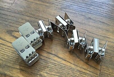 Stainless Steel Film Hanging Clips Drying 35mm Dev Weighted - SET OF 10