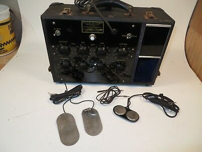 Early 1900's Auto-Electronic Radioclast model # 0-20-IP Quack Medical Device