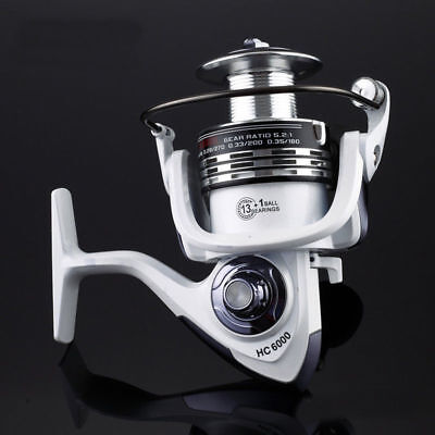14BB Ball Bearing Fishing Spinning Reel Right Left Hand Saltwater Freshwater HC