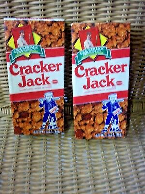 Two Boxes 1992 Cracker Jack 1915 Baseball Card Boxes Un opened
