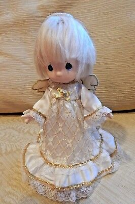"Precious Moment 6"" Angel Doll.  Light As A Feather And Pretty As A Picture."