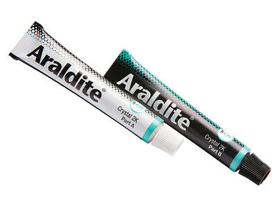 Araldite Crystal Epoxy 2 x 15ml Tubes ARA400008