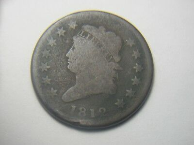 "VERY RARE! 1812 Classic Head Large Cent. Great Condition! Full ""LIBERTY""!!!!!!!"