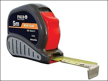 Fisco TL5M Tri-Lok Pocket Tape 5m (Width 19mm) (Metric only) FSCTL5M