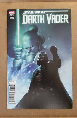 Star Wars Darth Vader #3 2017 1:25 Variant 1st Appearance of Kirak Infil'a  9.4