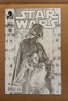 Star Wars #4 1st Print Dark Horse Comics Alex Ross Sketch Variant Unread 9.6-9.4